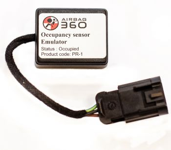 audi a6 passenger side airbag seat occupancy occupied weight sensor